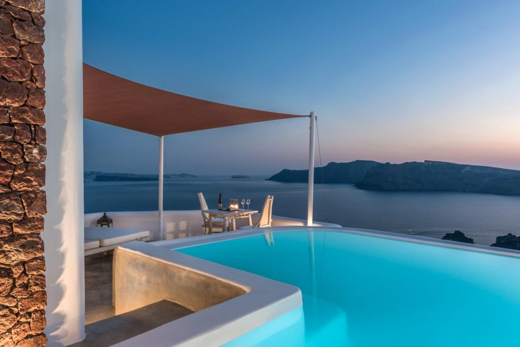 Andronis hotel luxe Santorin 1